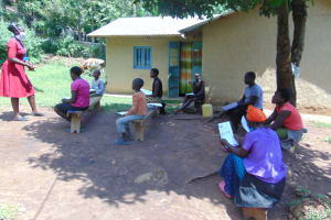 The Water Project: Ebung'ayo Community, Wycliffe Spring -  Training In Session