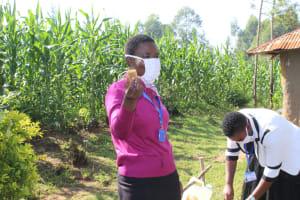The Water Project: Shiamboko Community, Oluchinji Spring -  Soap Is Essential In Fighting Coronavirus