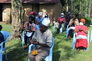 The Water Project: Shiamboko Community, Oluchinji Spring -  The Handwashing Exercise