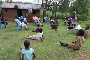 The Water Project: Mumuli Community, Shalolwa Spring -  Training In Session