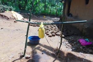 The Water Project: Handidi Community, Matunda Spring -  A Complete Handwasing Station