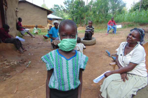 The Water Project: Handidi Community, Matunda Spring -  The Mask Fit Perfectly