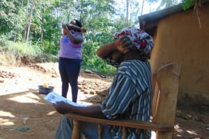 The Water Project: Handidi Community, Matunda Spring -  This Is How One Should Cough Or Sneeze
