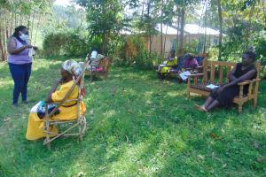 The Water Project: Mukhuyu Community, Shikhanga Spring -  Sewing Masks