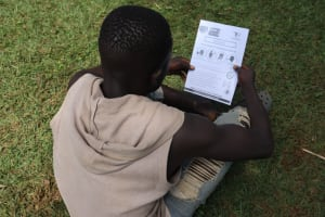 The Water Project: Ematiha Community, Ayubu Spring -  Reviewing Covid Symptoms