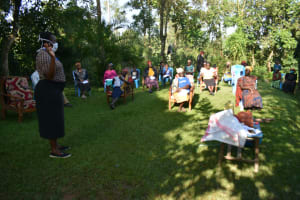 The Water Project: Shitoto Community, Laurence Spring -  Ms Karen Leading Training