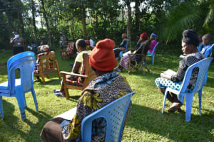 The Water Project: Shitoto Community, Laurence Spring -  Social Distancing Observed At Training