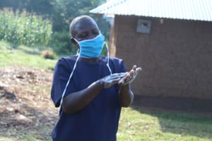 The Water Project: Emusanda Community, Walusia Spring -  Start By Cleaning Your Palms Thoroughly