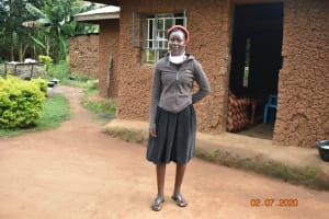 The Water Project: Eshiakhulo Community, Asman Sumba Spring -  Mercy Ogonga