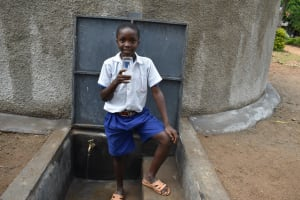 The Water Project: Mutiva Primary School -  Drinking Clean Water