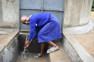 The Water Project: Mutiva Primary School -  Enjoying Clean Water To Clean Hands