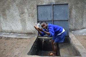 The Water Project: Mutiva Primary School -  Splashing Water