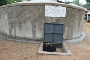 The Water Project: Mutiva Primary School -  Water Point Flowing Without People