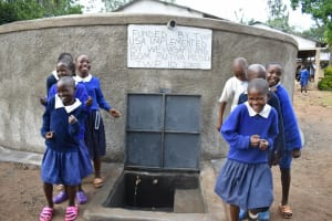 The Water Project: Mutiva Primary School -  All Smiles And Laughter Here