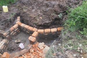 The Water Project: Mahira Community, Litinyi Spring -  Brick Works