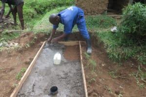 The Water Project: Mahira Community, Litinyi Spring -  Sanplat Construction
