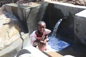 The Water Project: Mahira Community, Litinyi Spring -  Water Celebrations