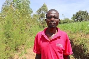 The Water Project: Mukhuyu Community, Chisombe Spring -  Dan Namutali