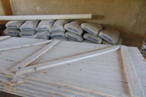 The Water Project: Malinda Secondary School -  Hardware Materials Stored At School
