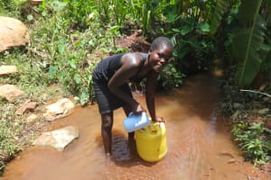 The Water Project: Shihome Community, Peter Majoni Spring -  Then You Pour