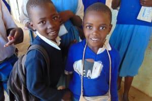 The Water Project: Ivakale Primary School & Community - Rain Tank 1 -  Pupils