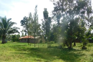 The Water Project: Mahola Community, Oyula Spring -  A Family Compound