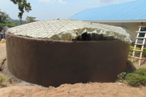 The Water Project: Malinda Secondary School -  Dome Casting
