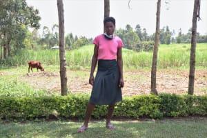 The Water Project: Burachu B Community, Shitende Spring -  Magdalene Wanjala