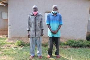 The Water Project: Shihingo Community, Inzuka Spring -  Gerald With His Twin Brother Patrick Inzuka
