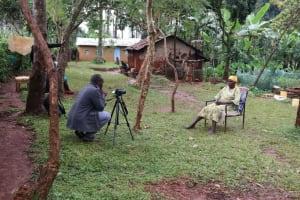 The Water Project: Mushina Community, Shikuku Spring -  Camera Operator Allan Films Beatrice