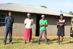 The Water Project: Mahira Community, Kusimba Spring -  Joshua Kusimba With His Family