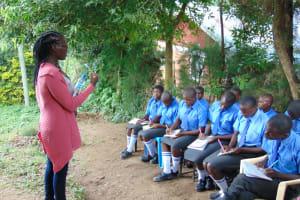 The Water Project: Malinda Secondary School -  Dental Hygiene Training