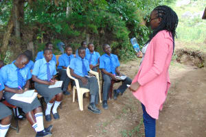 The Water Project: Malinda Secondary School -  Explaining Solar Disinfection Water Treatment