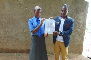 The Water Project: Malinda Secondary School -  Training Using Diagrams