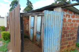 The Water Project: Friends Kisasi Secondary School -  Girls Latrine Block