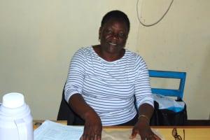 The Water Project: Friends Kisasi Secondary School -  Headteacher