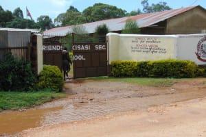 The Water Project: Friends Kisasi Secondary School -  School Entrance