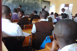 The Water Project: Friends Kisasi Secondary School -  Students In Class