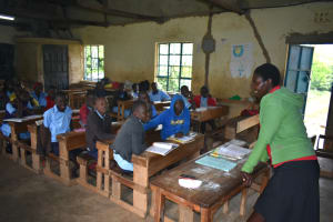 The Water Project: Isango Primary School -  Class In Session
