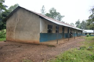 The Water Project: Isango Primary School -  Exterior School Building Classrooms