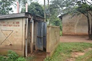 The Water Project: Isango Primary School -  Girls Latrine