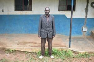 The Water Project: Isango Primary School -  Headteacher Mr Makana