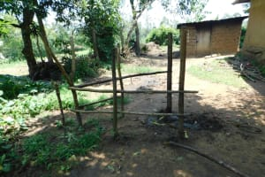 The Water Project: Emutetemo Community, Lubale Spring -  Animal Pen