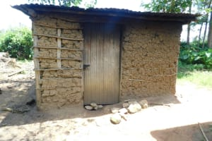 The Water Project: Emutetemo Community, Lubale Spring -  Kitchen