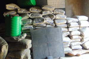 The Water Project: Kapkoi Primary School -  Cement And Hardware Materials