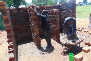 The Water Project: Kapkoi Primary School -  Latrine Construction
