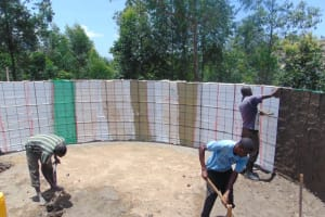 The Water Project: Kapkoi Primary School -  Interior Plaster And Cement Work