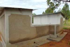 The Water Project: Kapkoi Primary School -  Latrines