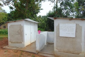 The Water Project: Kapkoi Primary School -  The Two Vip Latrine Blocks At Kapkoi Primary School