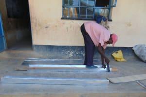 The Water Project: Boyani Primary School -  Gutter Preparation